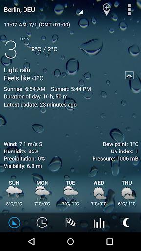 3D Sense Clock & Weather  screenshots 2