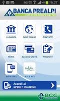Screenshot of BCC Prealpi