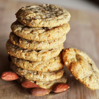 Chewy Almond Cookies.