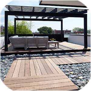 Patio Designs Ideas wooden garden patio with gazebo Cover Art