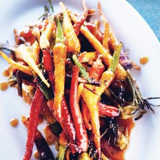 Sorghum-Glazed Baby Carrots