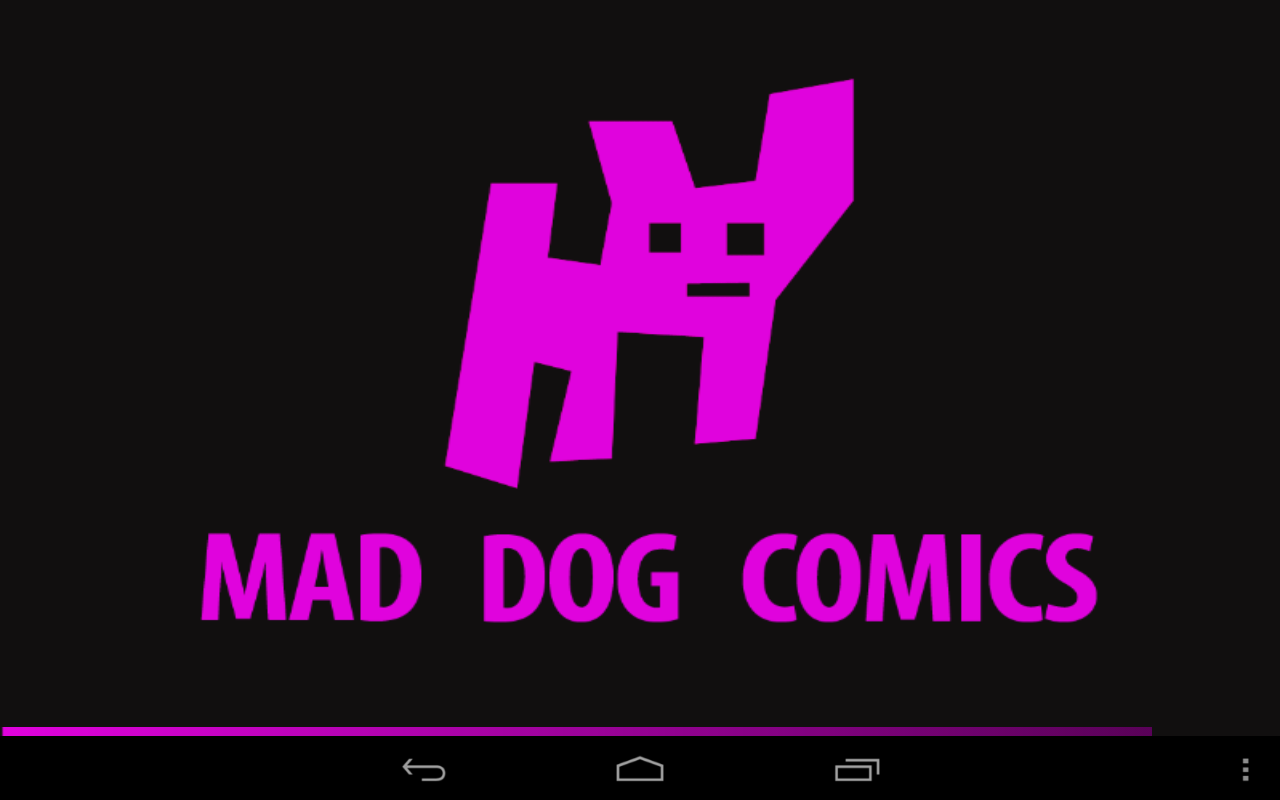 MAD DOG COMICS - screenshot