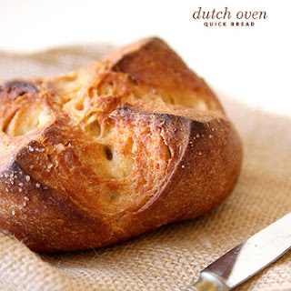 Dutch Oven Quick Bread.