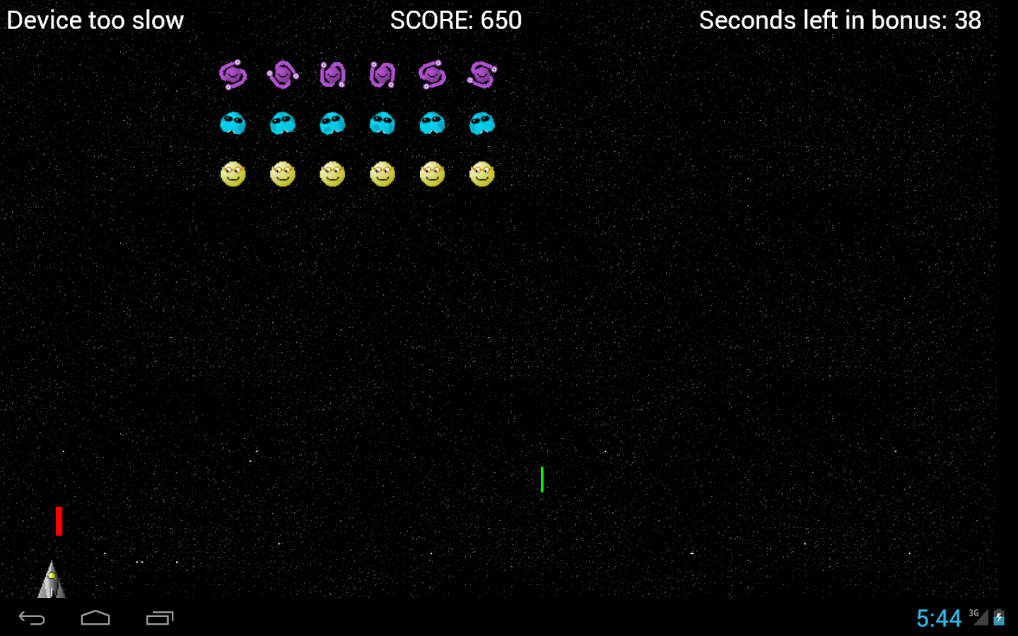 Space Smilies: Space Invaders- screenshot