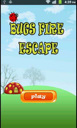 飞虫 火 逃生 - 免费 游戏