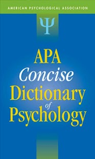 APA Concise Dictionary Free- screenshot thumbnail