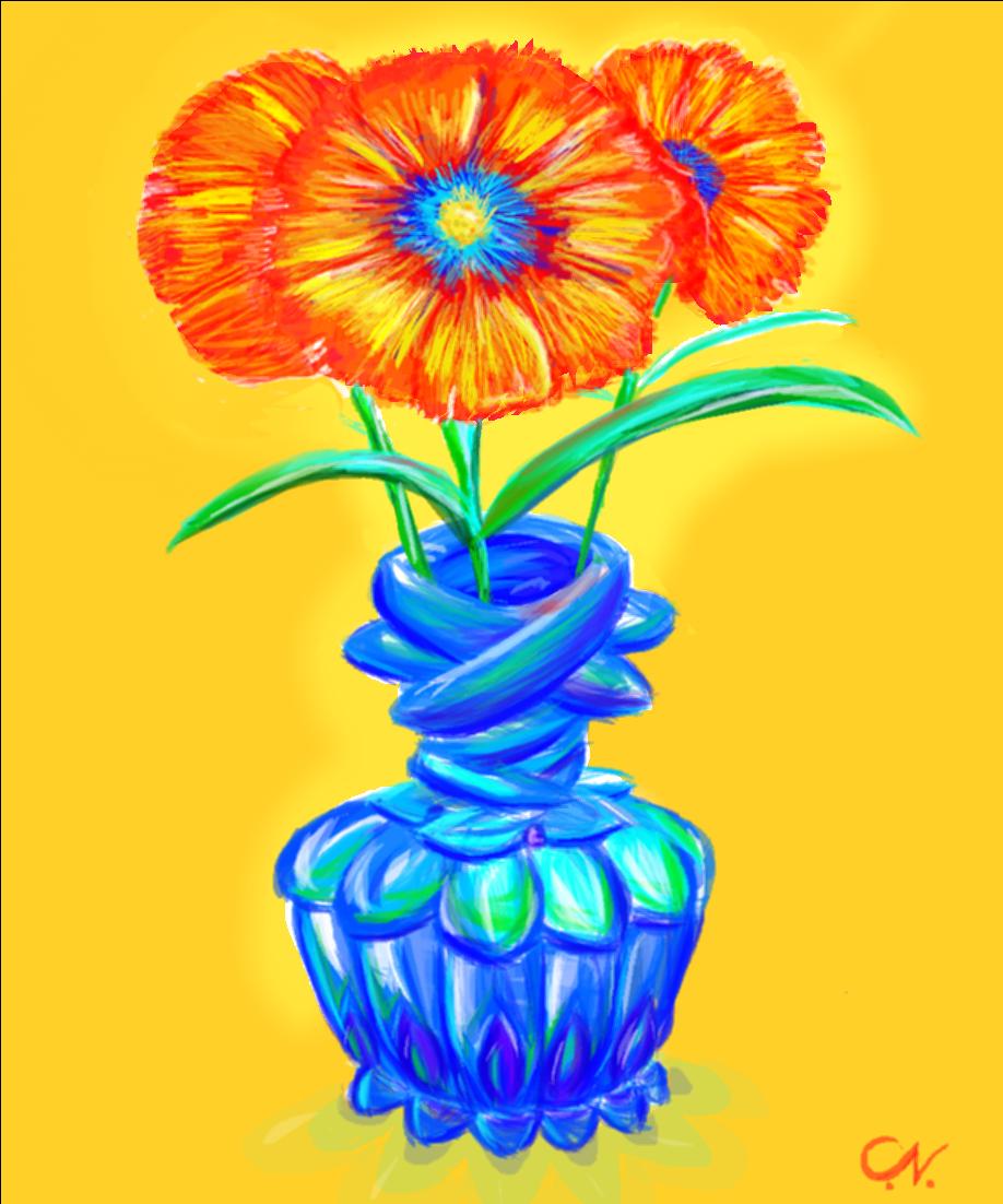 Flowers in a peacock vase drawings sketchport flowers in a peacock vase reviewsmspy