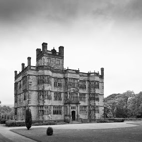 Here is a photograph that I have taken from outside Gawthorpe Hall.  Located in Burnley, Lancashire, England, UK. by Michael D Beckwith - Buildings & Architecture Public & Historical