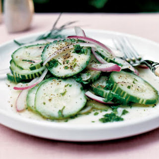 Cucumbers and Onions