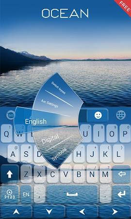 Ocean Emoji GO Keyboard Theme 1.85.5.82 screenshot 189090