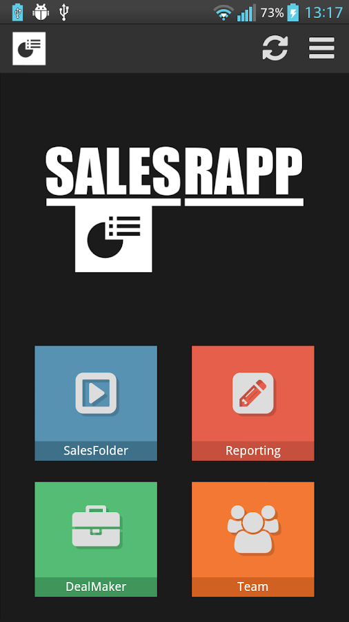 SalesRapp For Sales Reps- screenshot