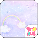 Cute Theme-Cloudy Night- icon
