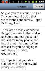 Birthday Messages screenshot 7