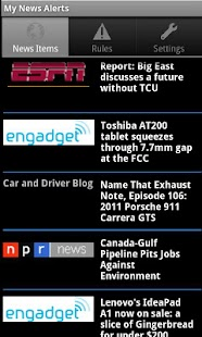 My News Alerts - screenshot thumbnail
