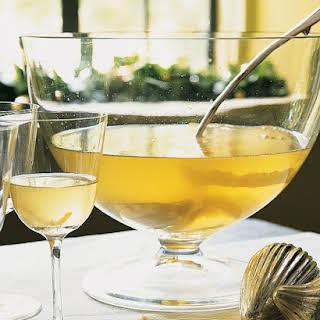Lemon Drop Champagne Punch.