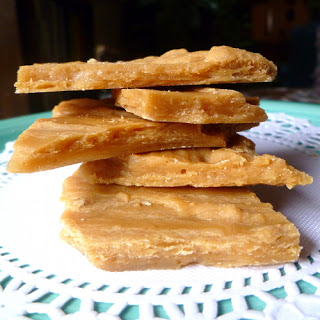 Peanut Butter Shale Candy