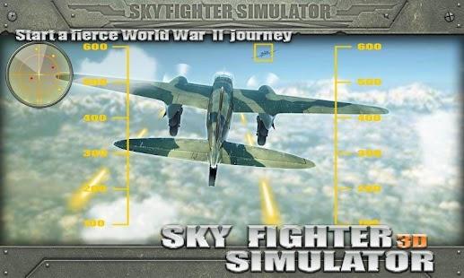 3D Sky Fighter Simulator