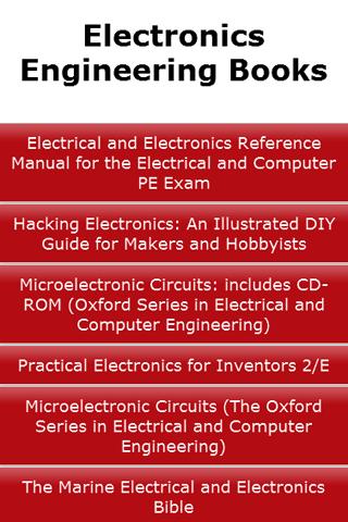 Electronics Engineering Books