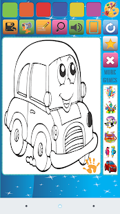 Car Coloring Book - náhled