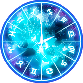 Lucky stars Clock Widget