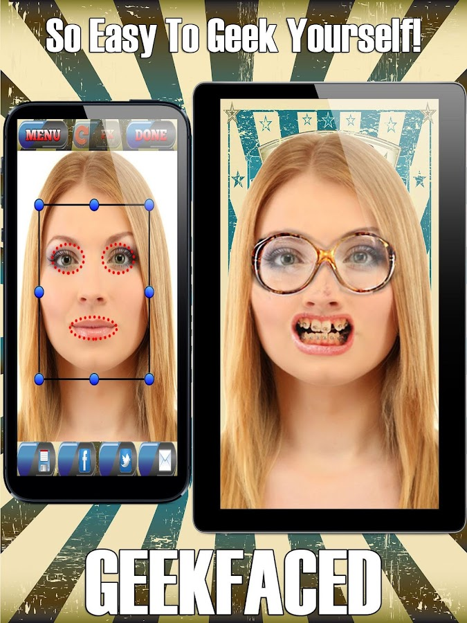 GeekFaced Free Geek FX Booth - screenshot