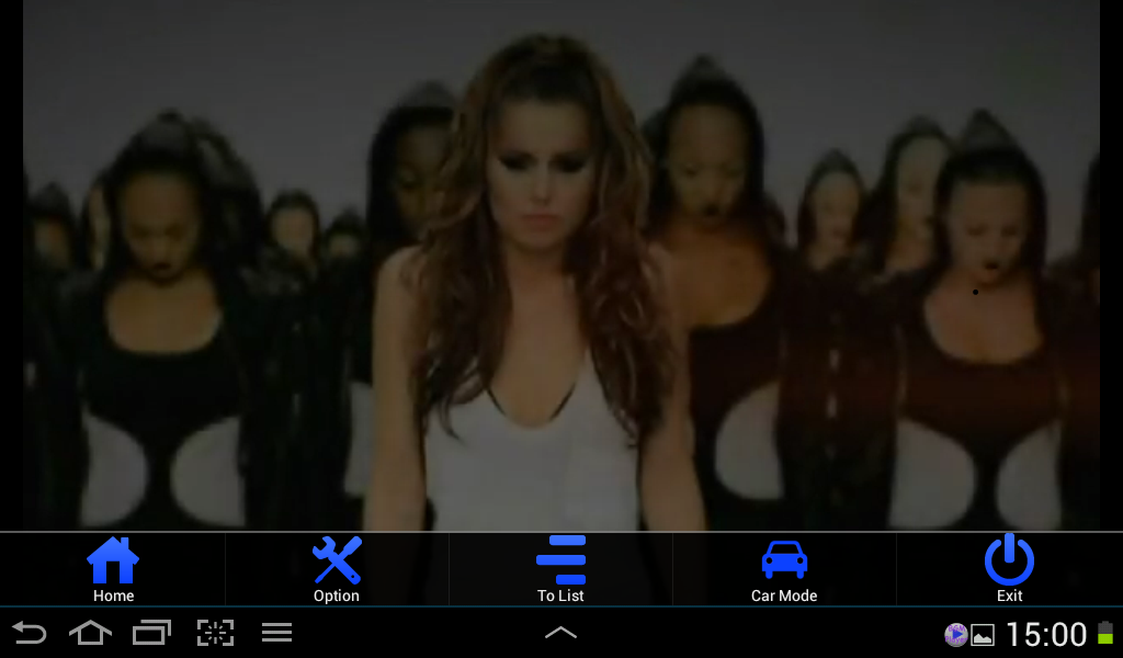 Background Media Player - screenshot