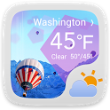Beyond The Dream Theme Weather icon