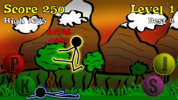 Screenshot of Sticky Ninja HD
