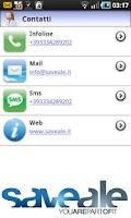 Screenshot of SaveAle
