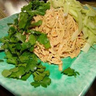 Sesame Peanut Noodle Salad.
