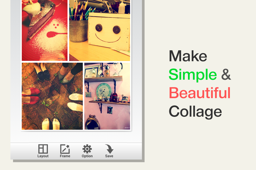 Photo Frame Free:Easy Collage- screenshot