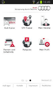 myAudi mobile assistant - screenshot thumbnail