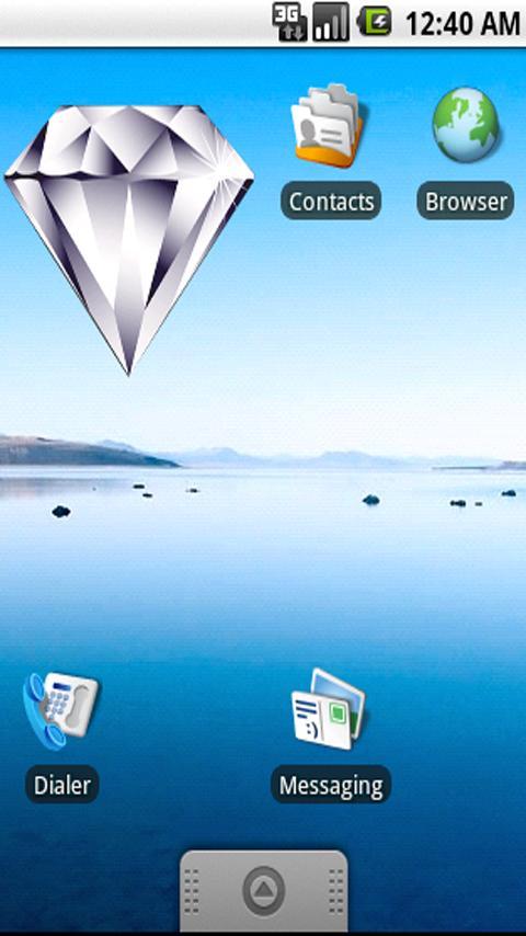 Diamond Widget - screenshot