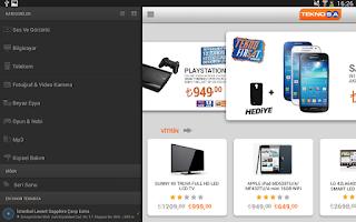Screenshot of Teknosa Tablet