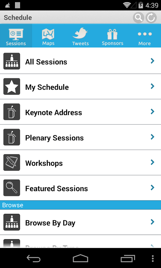 OLC Conferences - screenshot