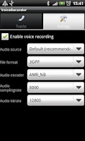 Screenshot of Voicecall recorder