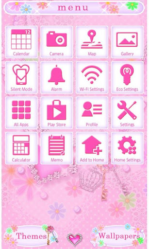 Cute Theme-Dreamy Flowers- 2.0.0 Windows u7528 3