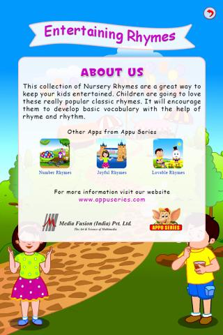Entertaining Rhymes - screenshot