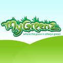 Marijuana – MyGreenz Locator logo