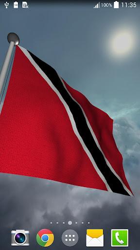 Trinidad Tobago Flag + LWP
