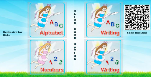 ABCD Numbers Practice Kids