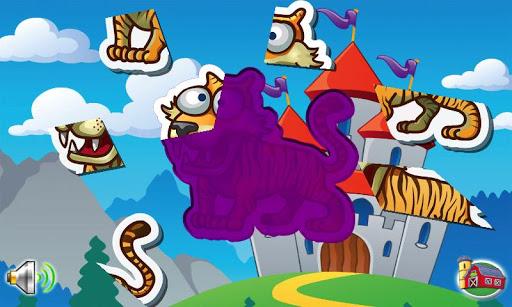 Puzzle Animals 4 Kids