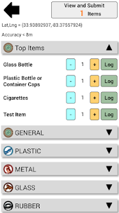 Marine Debris Tracker- screenshot thumbnail