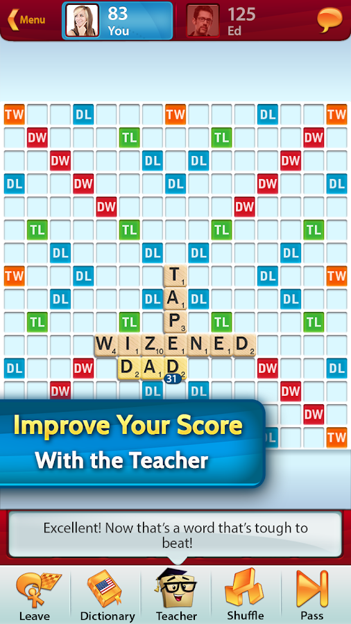 SCRABBLE- screenshot