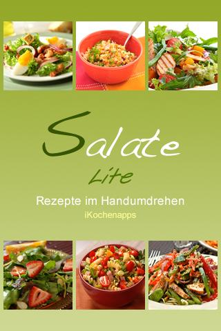 iKochen Salate Lite- screenshot
