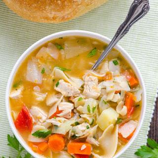 Chicken Noodle Harvest Vegetable Soup