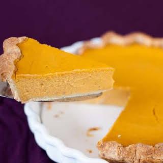 Extra Smooth Pumpkin Pie.