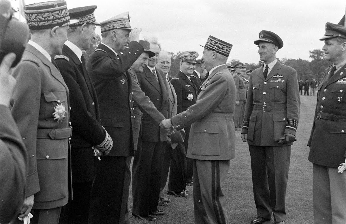 Formal Farewell Of Marshal Alphonse Juin, Commander In Chief Of The Allied Forces, Central Europe