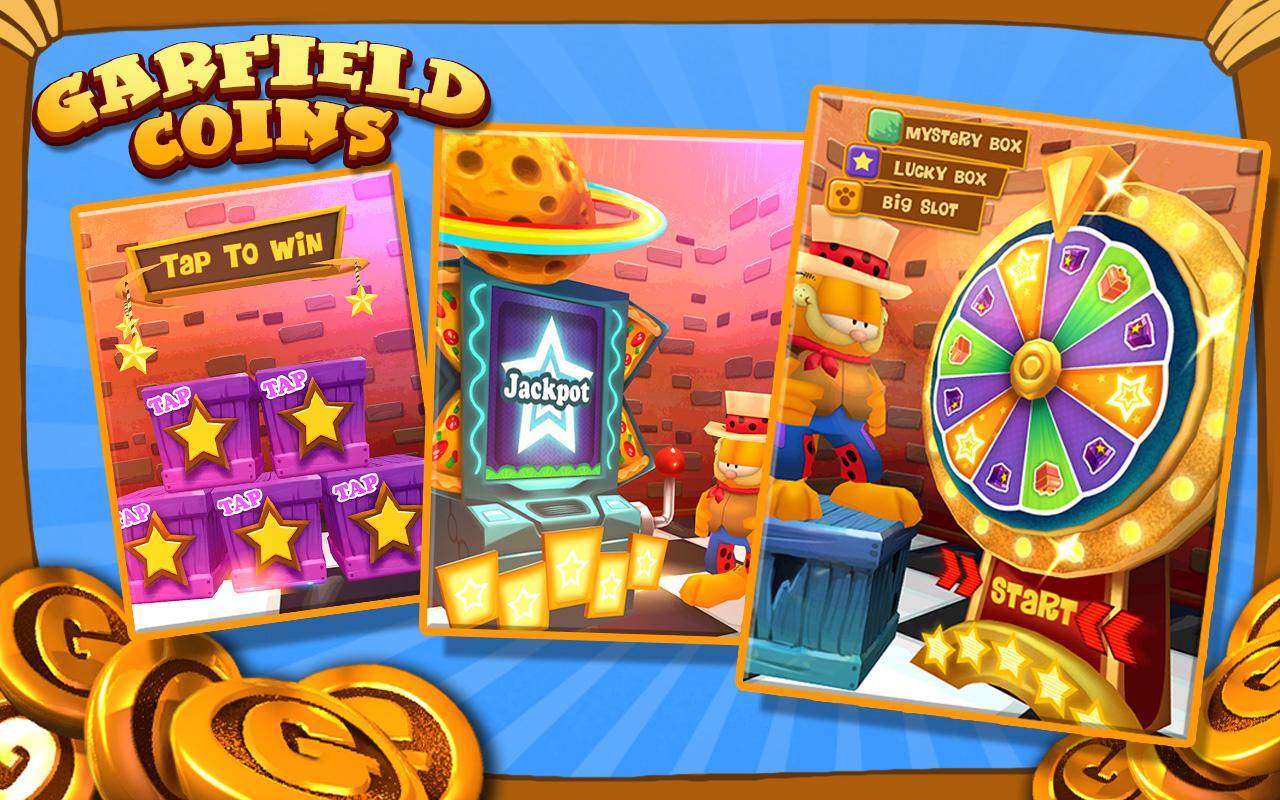 Garfield Coins - screenshot