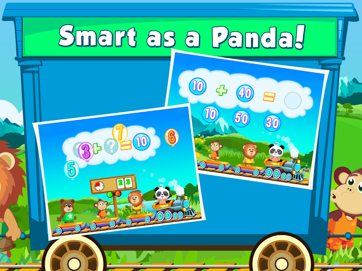 Lola Panda's Math Train 2 FREE- screenshot